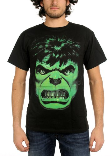 The Incredible Hulk - Angry Face T-Shirt Size (Incredible Hulk Movie T-shirt)