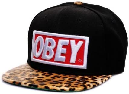 Obey Snapback Cap Gorra Leo Leopard Hat Tisa Yolo Swagg Ymcmb Lil ...