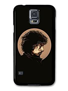 Kingsface AMAF ?? Accessories Bob Dylan Black Poster Original Illustration Singer case cover for Samsung Galaxy farUlE79FsR S5