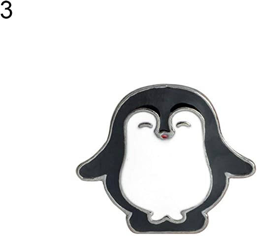 Penguin Lapel Pin Badge