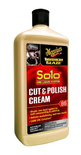 UPC 070382186326, Meguiar's M86 Mirror Glaze Solo Cut & Polish Cream - 32 oz.