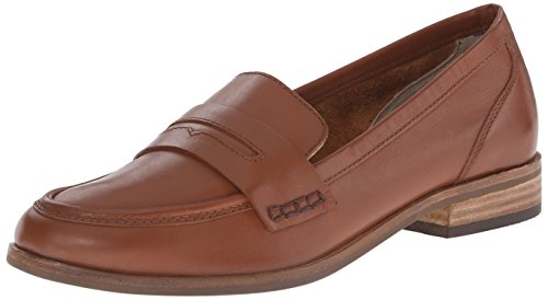 Seychelles Women's  Penny Loafer, Whiskey,