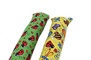 "Original 11"" Kitty Stick Catnip Cat Toy (Pack of 2), Assorted Colors & Patterns"