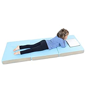 Milliard Toddler Nap Mat Tri Folding Mattress with Washable Cover (24 inches x 57 inches x 3 inches) 16