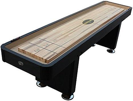Berner Billiards - Mesa de Barco con 12 pies, Color Negro: Amazon.es: Deportes y aire libre