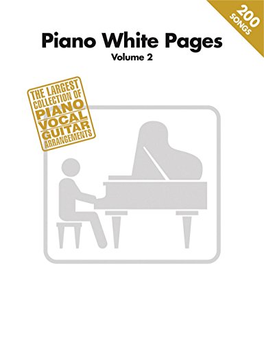 - Hal Leonard Piano White Pages Vol 2 Piano/Vocal/Guitar Songbook