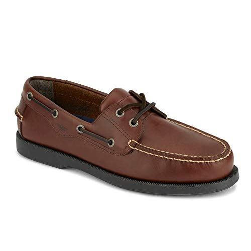 Dockers Men's Castaway Boat Shoe,Raisin,12 W US (Best Shoes To Skate In)