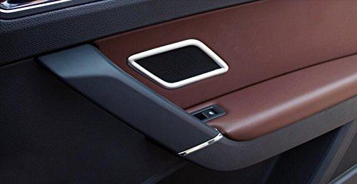 ABS mat Int/érieur Porte arri/ère Haut-parleur st/ér/éo Coque Trim 2 pcs pour accessoire de voiture VWTA