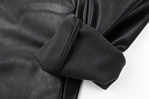 Pantaloni Idopy Coulisse Nero Con Da In Uomo Pelle vnwTdqwg