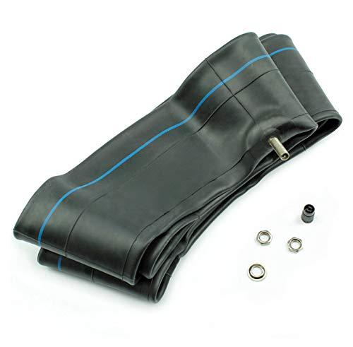 BISOMO 1 x slang 3.25/3.50/110/90/120/80/120/90 x 16 Vee rubberen rechte ventiel TR4