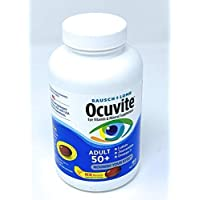 Ocuvite Adult 50+ Vitamin & Mineral Supplement with Lutein, Zeaxanthin, and Omega...