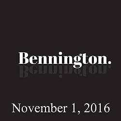 Ron Bennington Archive, November 1, 2016