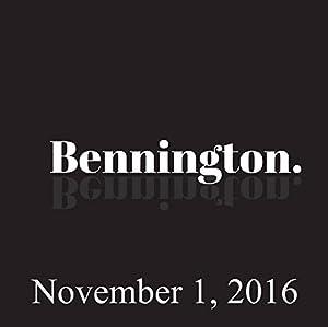 Ron Bennington Archive, November 1, 2016 Radio/TV Program
