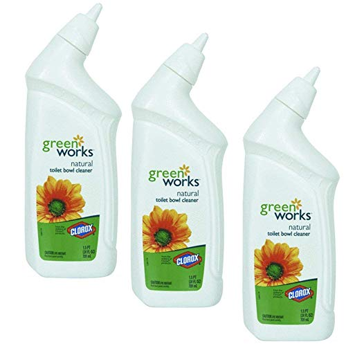 Green Works 00451 Toilet Bowl Cleaner Manual, 24 fl oz Bottle - 3 ()