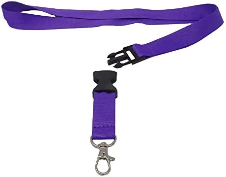 SBS Cinta llavero 20mm 10-piezas violeta: Amazon.es: Oficina ...