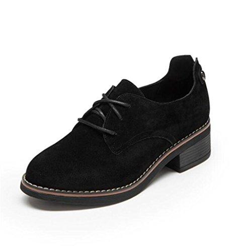 Scrub OxfordsBajo tal Retro mujer de Cordones Zapatos qFfRtwR