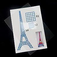 Outgeek Impresora 3D Papeles de Dibujo, 20PCS Impresora 3D Papeles ...
