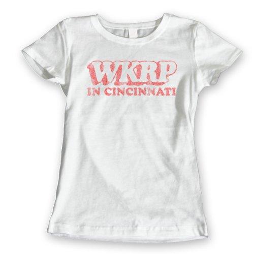 Funny Threads Outlet WKRP Cincinnati Ohio Womens Shirt Small - Ohio Cincinnati Outlet