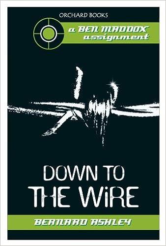 Langstrecken-E-Book Down To The Wire (Ben Maddox Book 2) in German PDF PDB by Bernard Ashley