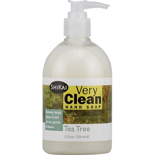 (2 Packs of Shikai Products Hand Soap - Very Clean Tea Tree - 12 Oz)