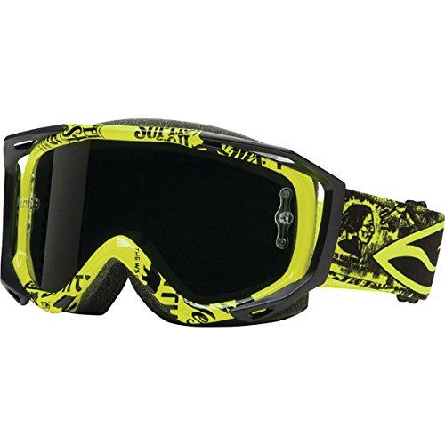 Smith Optics Fuel V.2 Sweat-X M Moto Series Off-Road Motorcycle Goggles Eyewear - Acid W3/Blackout / - Goggles Custom Motorcycle