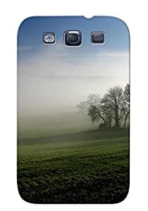 ZAINKde1096SagZi Special Design Back Autumn Landscape Phone Case Cover For Galaxy S3