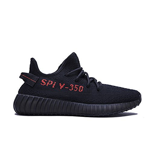 HongYo Luxury Lifestyle Popular Black Red Shoes Fashion Bred 350 Trendy V2 Sneaker