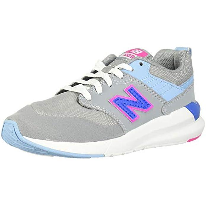 New Balance Unisex-Child 009 V1 Lace-up Sneaker