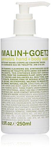 Malin + Goetz Hand + Body Wash, Cannabis, 8.5 Fl Oz