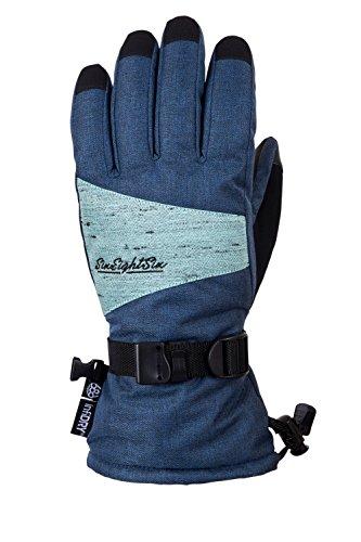 686 Women's Paige Waterproof Ski and Snowboard Glove | Bluesteel - S