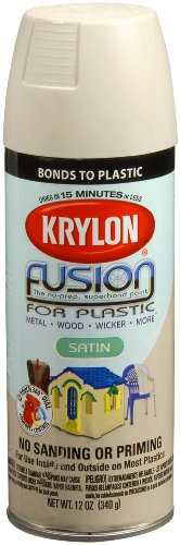 (Krylon 2437 Satin Almond Spray Paint 12 Ounce)