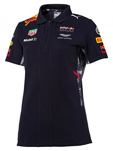 Red Bull Racing Formula 1 Women's Puma 2017 Navy Team Polo (XS)