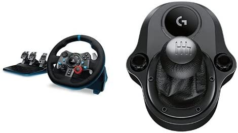 Logitech G29 Driving Force Race Wheel With Logitech G Driving Force Shifter Bundle Amazon Ca Computers Tablets