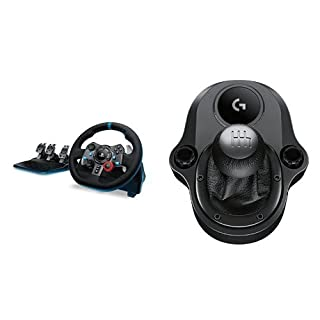 Logitech G29 Driving Force Race Wheel with Logitech G Driving Force Shifter Bundle (B016JBE8LU) | Amazon price tracker / tracking, Amazon price history charts, Amazon price watches, Amazon price drop alerts