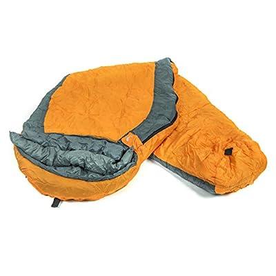 Tribe Provisions 3-season Adventure Sleeping Bag for Camping, Hiking, Backpacking