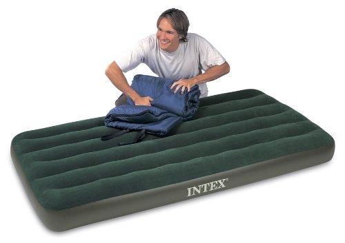 Intex Prestige Downy Twin Airbed Kit, Outdoor Stuffs