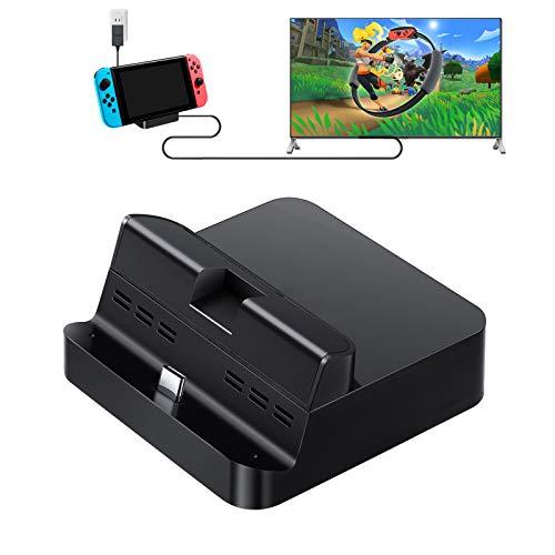 GULIkit Switch Dock Set, Typ C zu HDMI Adapter Docking Station für Nintendo Switch TV-Konsolenmodus, Ladestation Tragbarer Kompatibel Samsung DeX Modus, Huawei PC Modus und Macbook iPad Pro