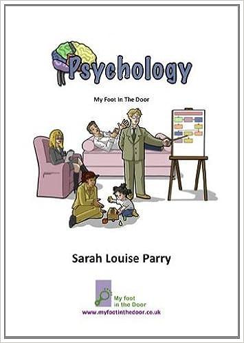Psychology My Foot In The Door 9780956122438 Amazon Com Books