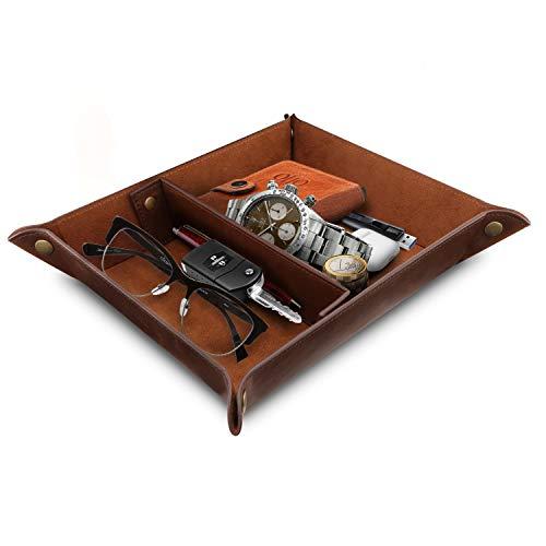 - Londo Leather Organizer Office Desk Tray