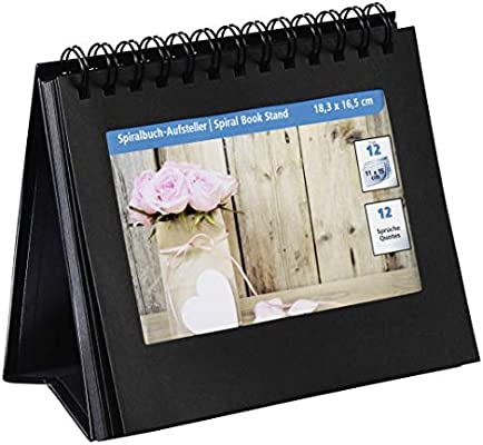 Hama 00002470 Caja de cartón Negro álbum de foto y protector ...