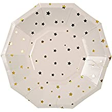Meri Meri Gold Star Small Plate