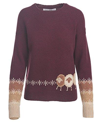 Lambswool Crewneck Sweater - 8