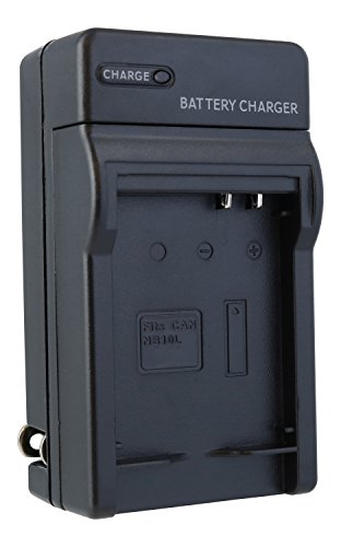 Canon NB-10L Compact Battery Charger by TechFuel replaces CB-2LC charger for PowerShot SX40 HS, SX50 HS, SX60 HS, G1 X, G3 X, G15, G16 cameras (Power Sx50 Supply)