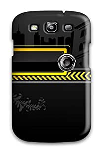 Christmas Gifts 6185671K52998828 New Shockproof Protection Case Cover For Galaxy S3/ Musical Vector Case Cover