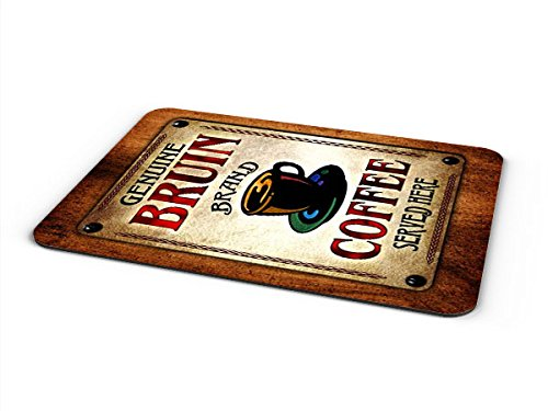 Bruins Table - Bruin Coffee Mousepad/Desk Valet/Coffee Station Mat