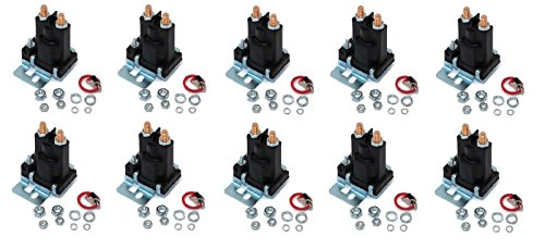 (10) RELAY SOLENOIDS for Western 56131K for Buyers SAM 1306310 4 Post w Hardware by The ROP Shop by The ROP Shop