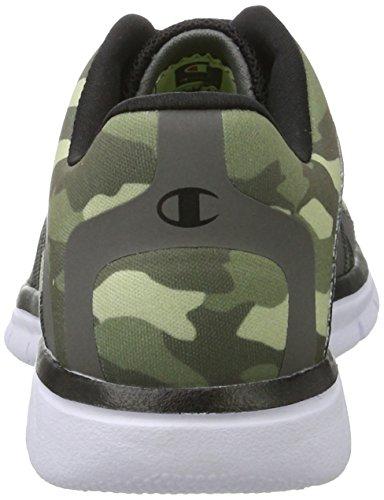 Champion Low Cut Shoe Alpha B Youth, Zapatillas de Running Niños Gris (Dog Camo)