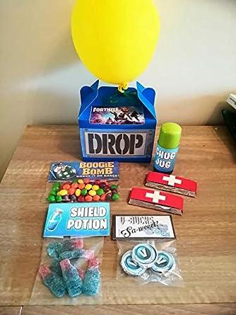 FORTNITE Drop Box Sweets Gift: Amazon co uk: Grocery