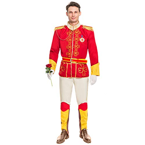 Spooktacular Creations Men's Prince Charming Costume Adult (Medium) ()