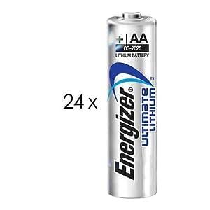 Amazon.com: AA Ultimate Photo Lithium Battery 24 Battery